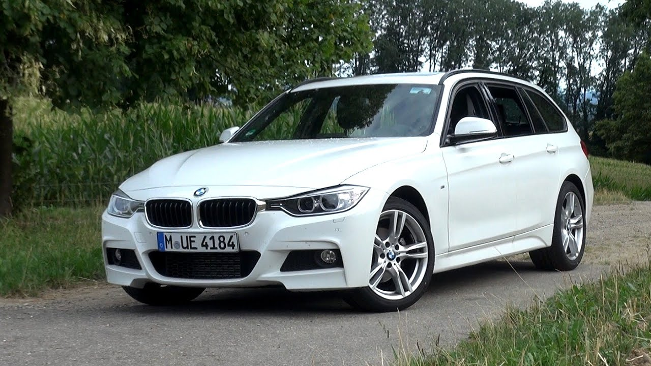 2015 bmw 320d touring 6 speed manual 184 hp test drive youtube. Black Bedroom Furniture Sets. Home Design Ideas