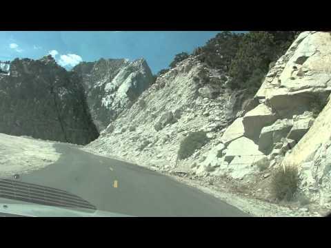 road trip near Lone Pine