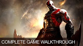God Of War Ghost Of Sparta Complete Game Walkthrough Full Game Story