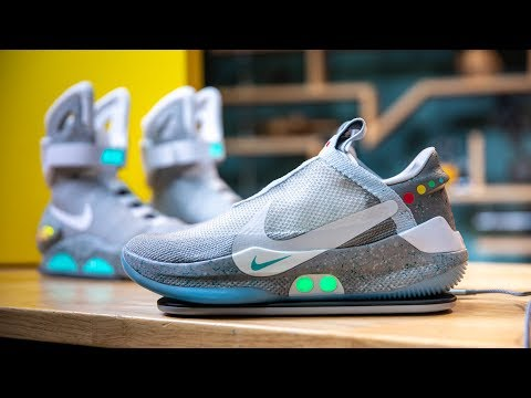 Christie James - NIKE Creates New Smart Shoe...Straight From Back To The Future!