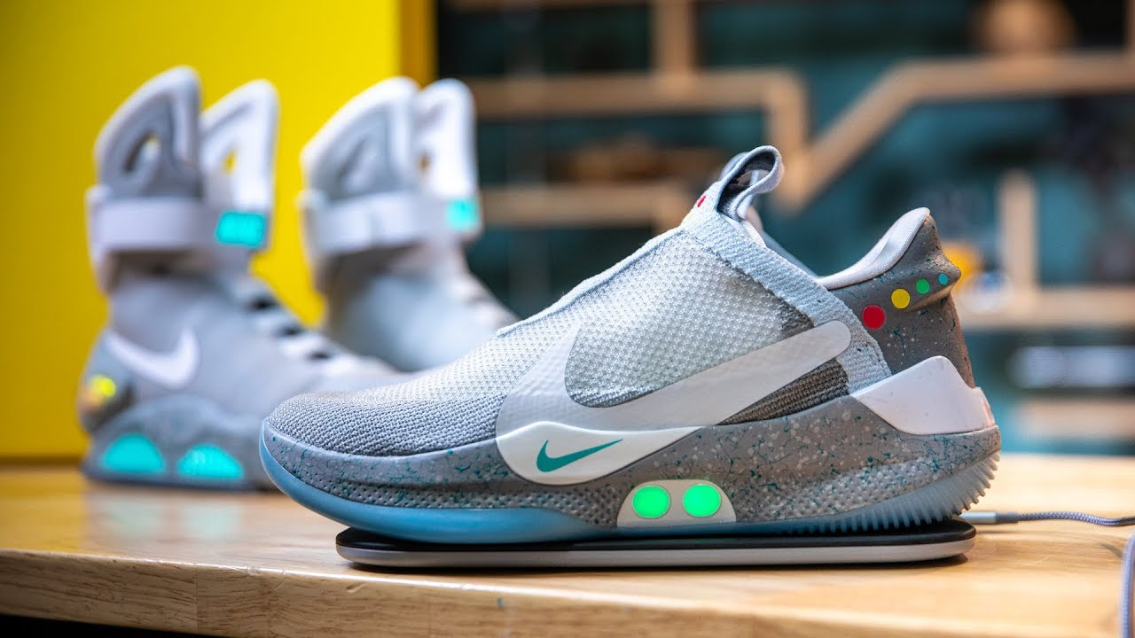 Show And Tell Nike S Adapt Bb Power Lacing Shoes Youtube