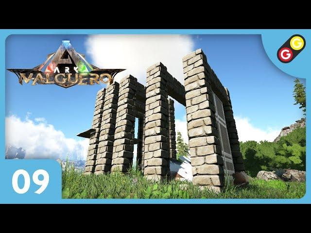 ARK : Survival Evolved - Valguero #09 On fabrique une cage à tame ! [FR]