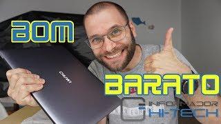 Portátil bom 👍 e barato 💲 !!! - Chuwi Lapbook SE unboxing e mini-análise em português!