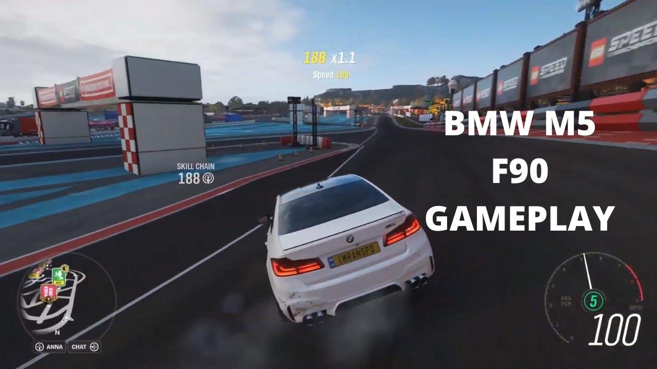 BMW M5 F90 - Forza Horizon 4 gameplay