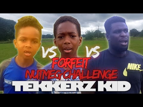 Forfeit Nutmeg Challenge Vs The Dad Vs Brother Vs Sisters!!| Tekkerz Kid