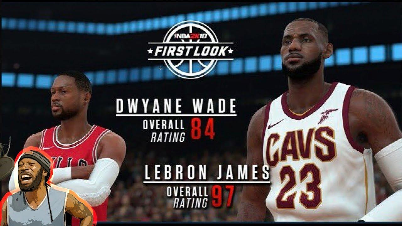 8c18328c72bb NBA 2k18 LEBRON JAMES 97 OVERALL RATINGS SCREEN SHOT REVEALED - YouTube