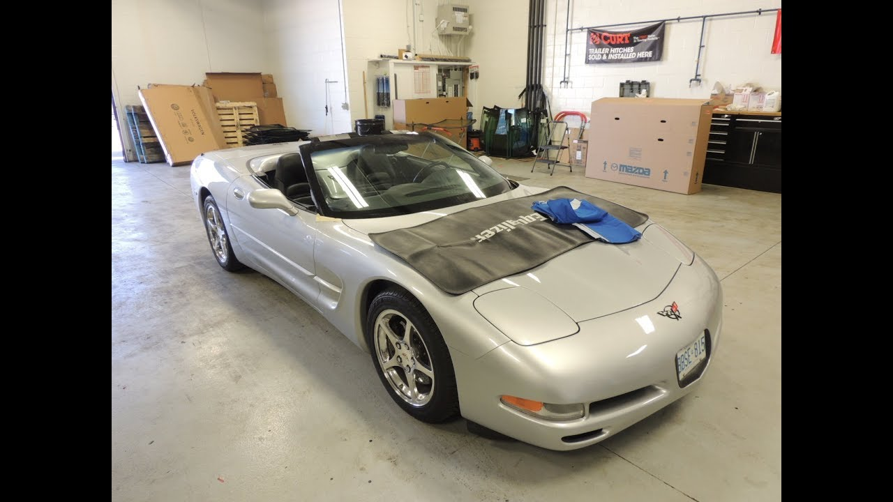 Corvette C5 1997-2004 Windshield Install
