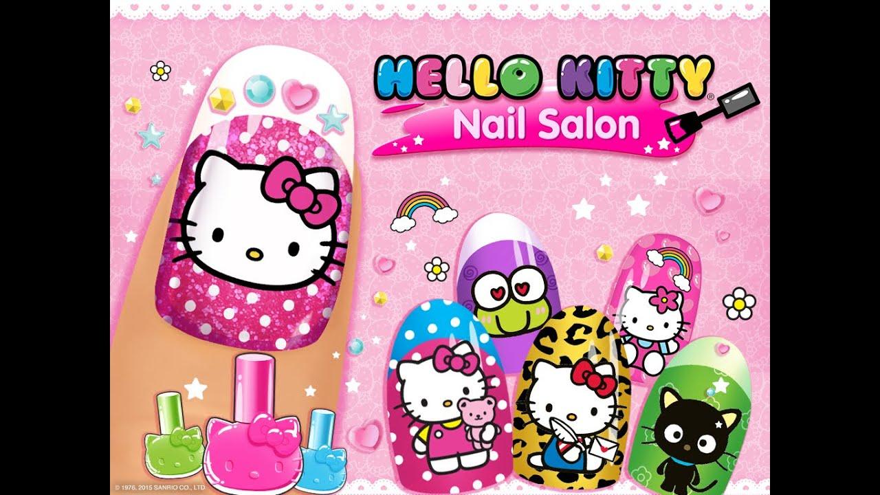 """kitty nail salon """"unlock"""