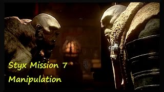 This is a styx shards of darkness gameplay mission 7 called Manipul...