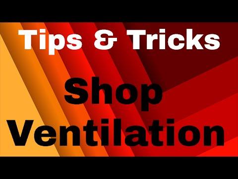 Workshop Ventilation // Blacksmith Tips and Tricks