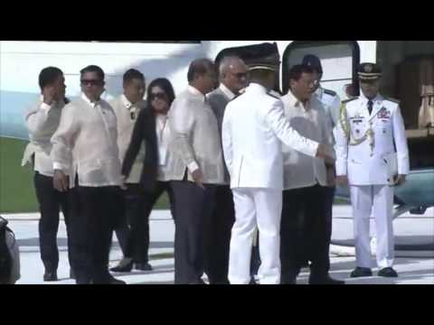 Pre-Sona light moments from chopper arrival in Congress to holding area