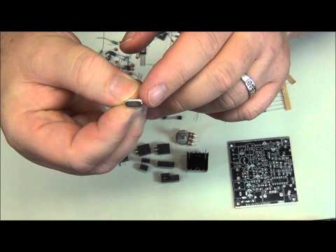 Frog Sounds HAM Radio QRP Kit Telegraph CW Transceiver (part 1) -  AF5DN