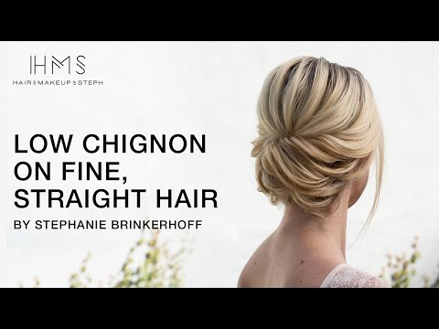 low-chignon-on-fine,-straight-hair-by-stephanie-brinkerhoff-|-kenra-professional