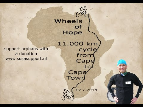 11,000 km cycle from Cairo to Cape Town - Wheels of Hope