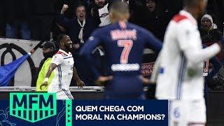 QUAL CLUBE ESTÁ MAIS PREPARADO PARA JOGAR AS OITAVAS DE FINAL DA CHAMPIONS? - MFM DEBATE (04/02)