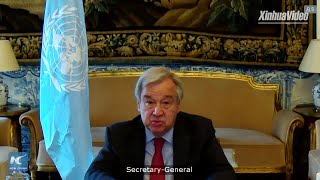 UN chief calls for immediate end to Palestinians-Israelis fighting