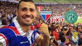 Fortaleza 2 x 1 Guarani-SP - Brasileirão Série B #Rodada01 13/04/2018 !!! ( Vlog do Conrado )