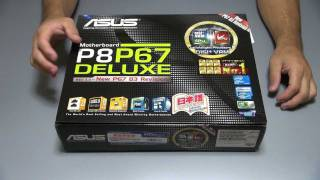 UNBOXING - ASUS P8P67 Deluxe