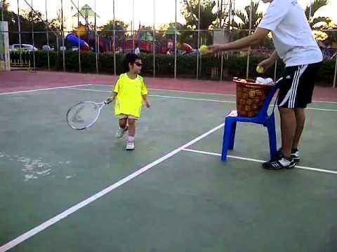เด็กไทยผู้จะเป็นนักเทนนิสระดับโลก