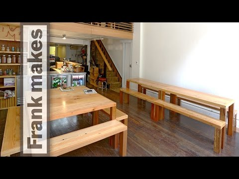 Studio Jelly Part 3 tables and benches