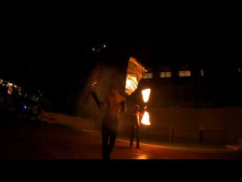 Fire Dance Show | Panan Krabi Resort 🇹🇭