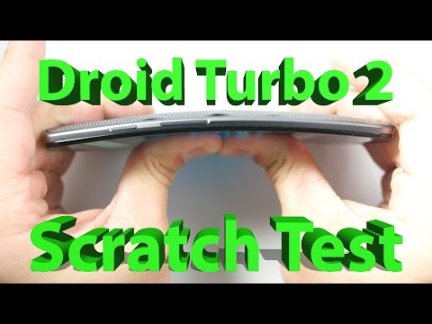 Motorola Droid Turbo 2 - Scratch Test, Bend Test, Burn Test