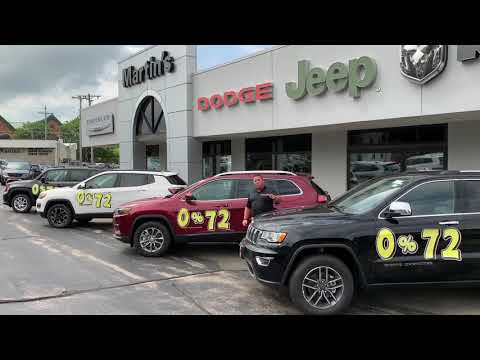 Martin's Chrysler Dodge Jeep and Ram August Specials
