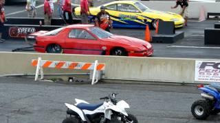 Mazda RX7 RX8 Crash at ATCO Raceway Pepe Loco