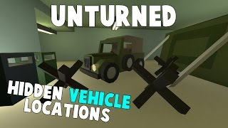 Unturned | Top 5 Places To Hide Vehicles