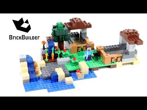 Lego Minecraft 21116 Crafting Box - Lego Speed Build