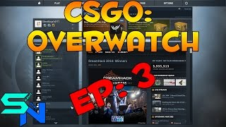 CSGO: Overwatch - Difficult decision; Hacker or legit?: Episode 3