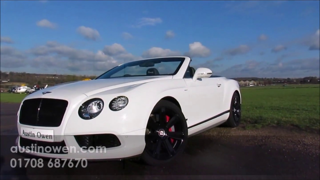 Bentley Continental Gtc Concours Series 2017 For Austin Owen Specialist Cars