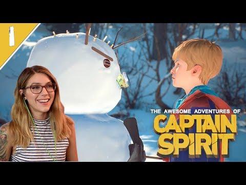 So Cute! | Captain Spirit Pt. 1 | Marz Plays