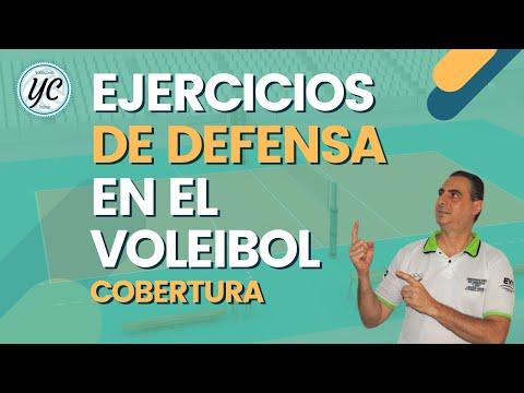 Defensa y pase 2 en el Voleibol
