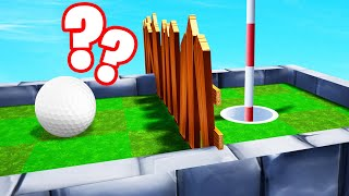 Figure Out How To GET PAST THIS TROLL HOLE! (Golf It)