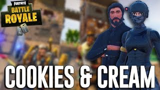 Cookies and Cream! - Fortnite Battle Royale Gameplay - Ninja & Myth Duos