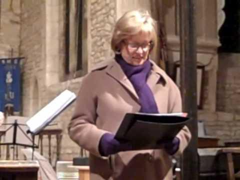 Wendy Cope Reading Dean Church December 2