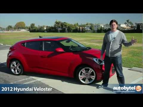 2012 Hyundai Veloster Test Drive Car Review
