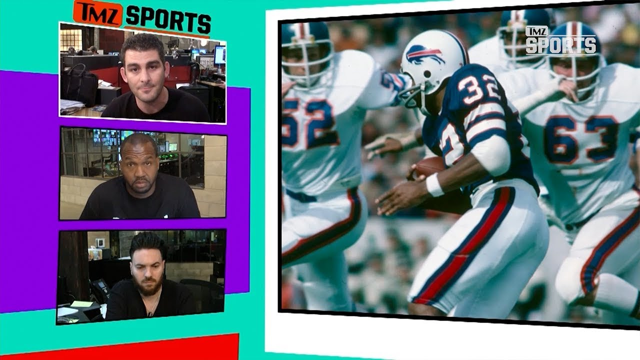 detailing cc26f 378e3 O.J. Simpson On Bills Giving Away His #32 Jersey, 'Fine With Me' | TMZ  Sports