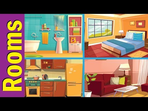Parts Of The House | Kids Vocabulary | Fun Kids English