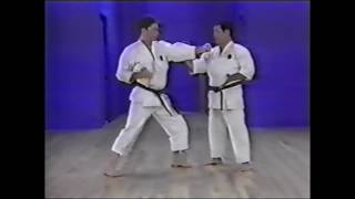 Goju ryu kata. Saifa. Bunkai variations.