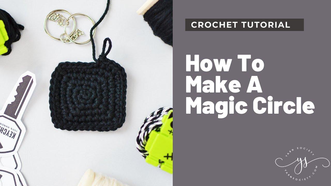Magic Ring Crochet Pattern Free Tutorial | Ringe häkeln, Magischer ... | 720x1280