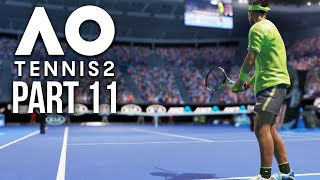 AO TENNIS 2 Career Mode Part 11 - GRAND SLAM