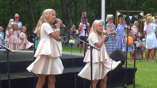 KRISLIN SALLO JA LOORE ALL - KÄÄNULISED TEED   RÕÕMSATE LASTE FESTIVAL 2018
