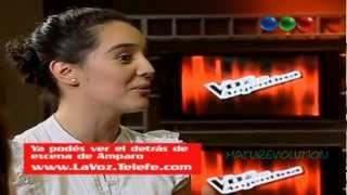 La voz Argentina / Amparo Ringler - Paisaje (sonido de alta ...