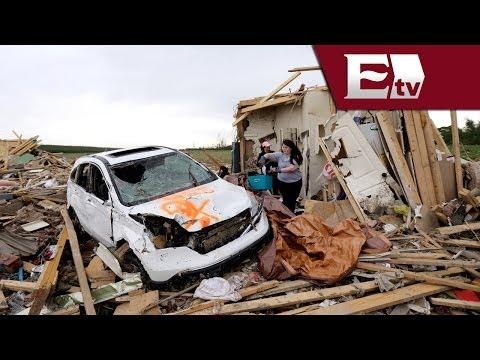 Arkansas y Oklahoma, los estados más golpeados por los tornados/ Pascal Beltrán del Río