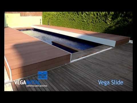 Construcci n de cubiertas para piscina vegametal youtube for Como construir una pileta de agua