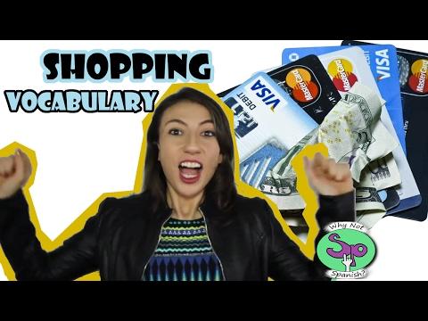 spanish-vocabulary-  -vocabulario-español.-shopping