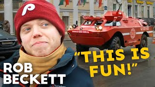 Touring St Petersburg In A Tank | Travel Man | Rob...