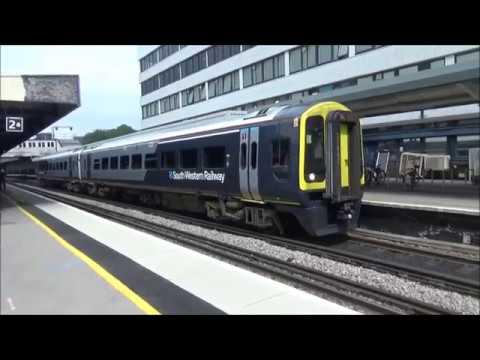 Trains at Southampton, Netley & Hamble - Friday 25th May 2018